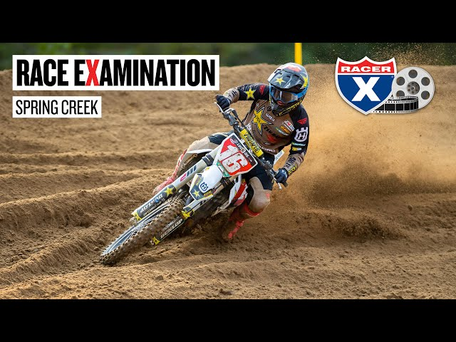 Should Zach Osborne Have Stopped for Wheel Change?: Race eXamination Spring Creek