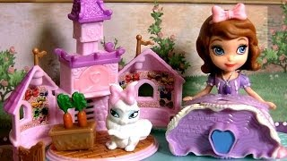 Princess Sofia & Ginger the Bunny Rabbit Review Disney Junior Sofia the First by Disneycollector
