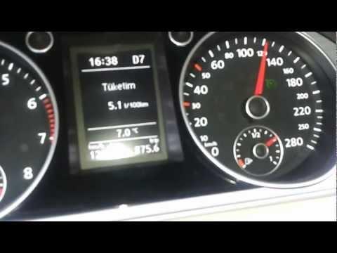 VW CC 1.4 TSI 160 PS 7 İLERİ DSG Fuel Test ( Yakıt Denemesi )