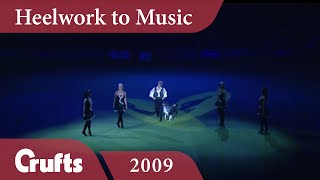 Heelwork To Music - Mary Ray's 2009 Performance | Crufts Dog Show