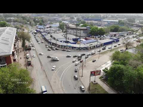 Сбербанк по ул.Советская / рынок на Елизарова / Кировский район г. Самара / Russia