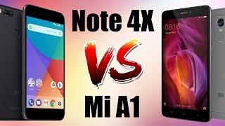 Xiaomi Mi A1 vs Redmi Note 4X сравнение, тест камер.