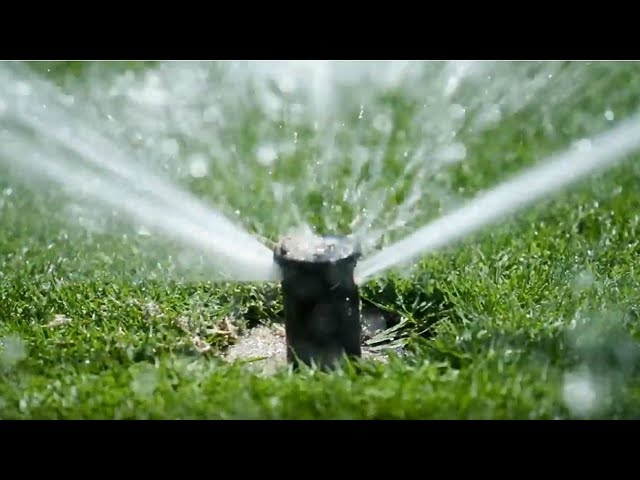 Rain Bird Golf Rotors - Self Flushing Action