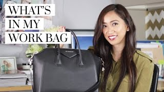 What's In My Work Bag (Givenchy Antigona), work bag, what's in my work bag