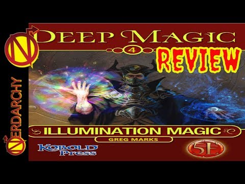 Repeat Illumination Magic for 5E D&D with the Kobold Press