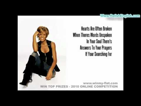 Whitney Houston   Everyone Falls In Love   Lyrics   Www RelishEnglish com