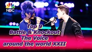 Top 9 Battle & Knockout (The Voice around the world XII)
