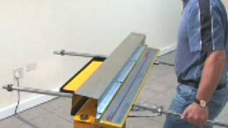 Magnetic Folding Machine for sheet metal upto 1.6mm thick.