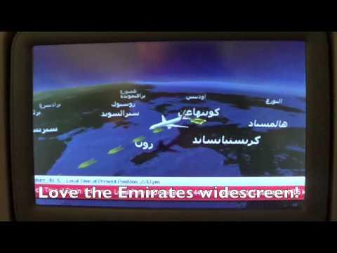 Emirates 777-300ER Economy class experience CPH-DXB