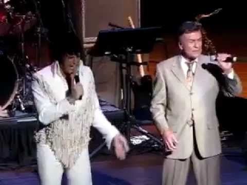 SHAWN KLUSH (ETA) & RAY WALKER (Jordanaire) Perform IT'S NOW OR NEVER, Elvis Week, 2012
