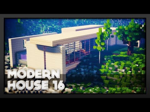 Minecraft - Modern House 16 from YouTube · Duration:  11 minutes 42 seconds