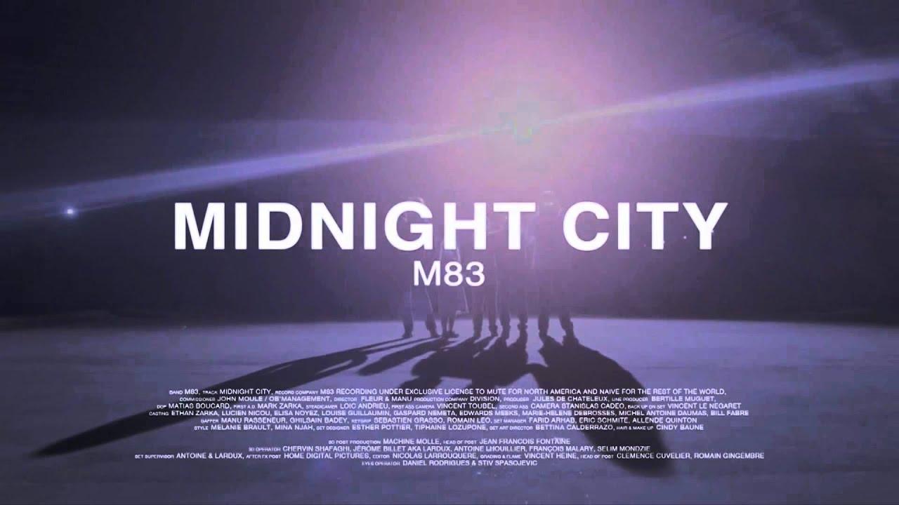 M83 GRATUITEMENT CITY TÉLÉCHARGER MIDNIGHT