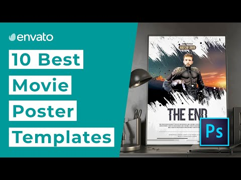 10 Best Movie Poster Templates for Photoshop [2020]