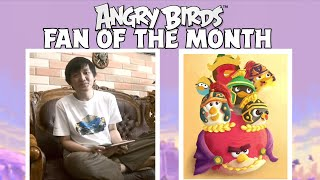 Angry Birds Fan Of The Month | Meet Enrico!