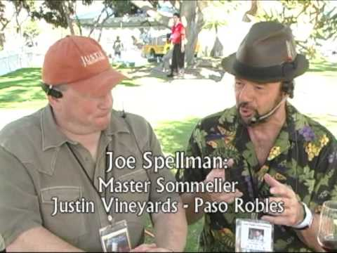 Joe Spellman: Master Sommelier, Talks About Chliean Wines, Paso Robles, Justin Wines, and More!