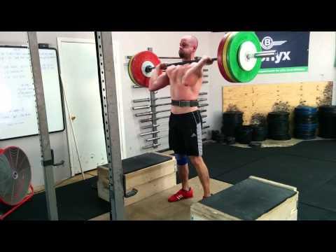 Willie McLendon 130kg C&J from Blocks 6/18/15