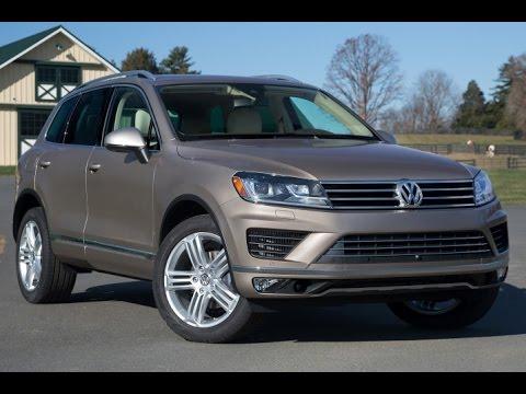 2016 Volkswagen Touareg Start up and Review 3.0 L V6 Diesel