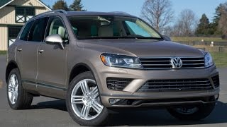 2016 Volkswagen Touareg Start up and Review 3.0 L V6 Diesel