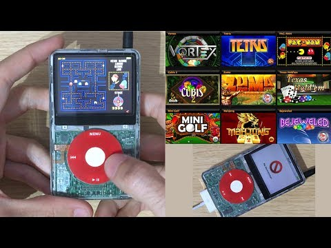Como Instalar Juegos En IPod Video 5G/5.5G + ITunes + IPodWizard + Firmware Download