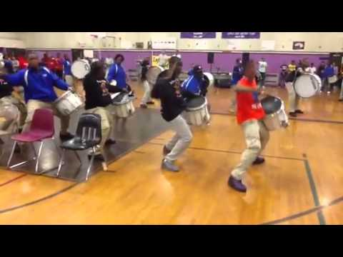 Marching Cobras TURN IT UP at Lincoln High School in Yonkers