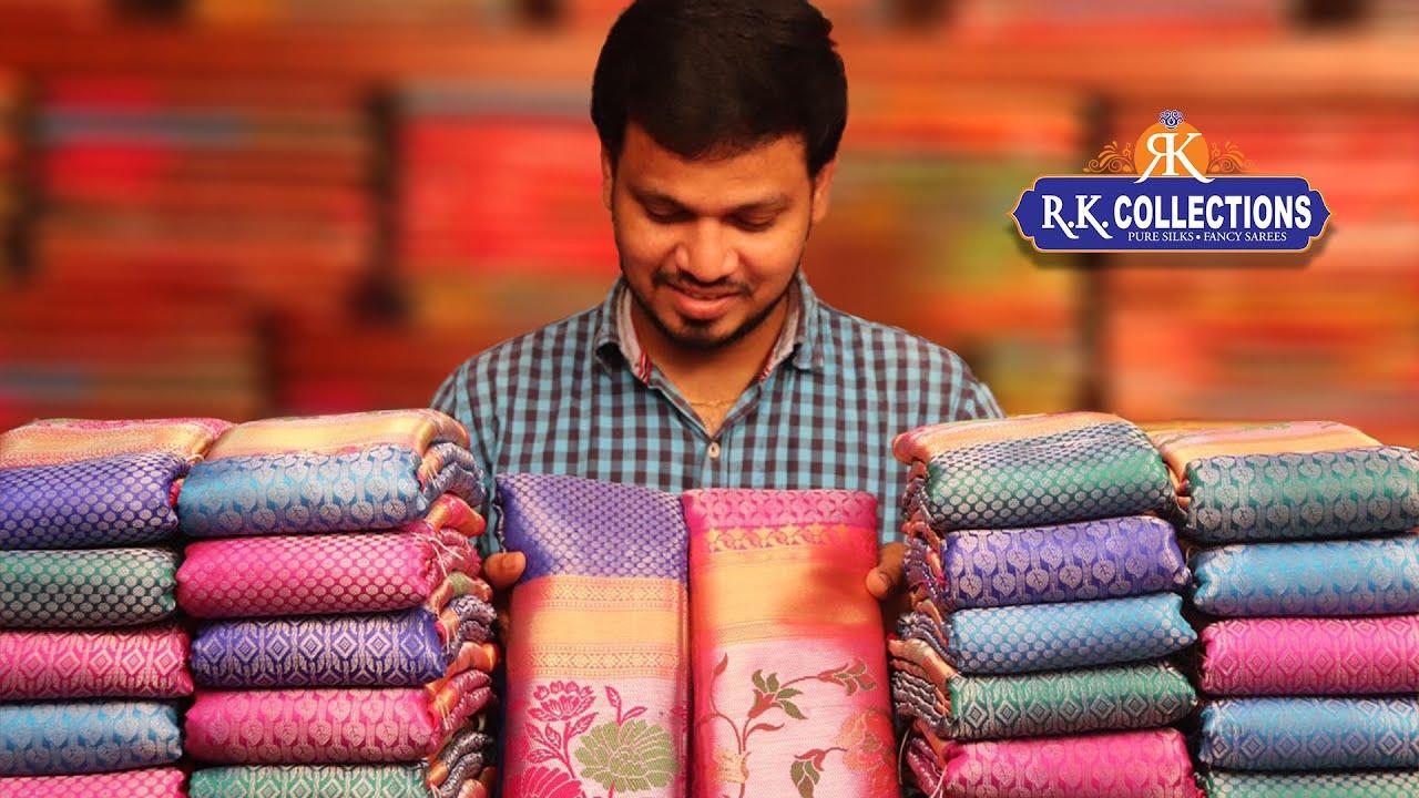 Kanjali Silk Work Sarees With Paithani Borders