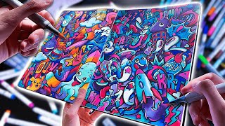 HOW TO DOODLE in 2020 !! (sAtiSfYinG)