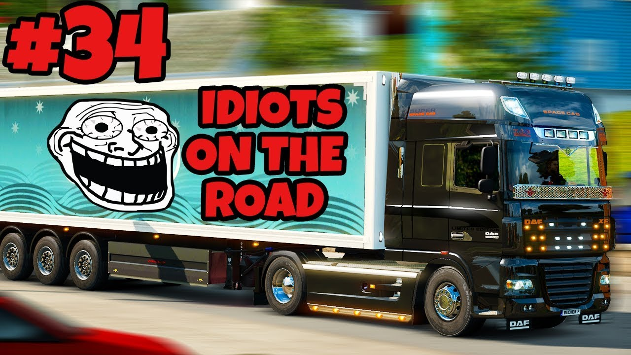euro truck simulator 2 multiplayer idiots on the road. Black Bedroom Furniture Sets. Home Design Ideas