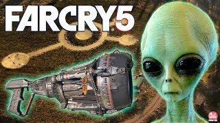 Far Cry 5 - ARMA ALIENÍGENA COM MUNIÇÃO INFINITA! || COMO PEGAR O MAGNOPULSO