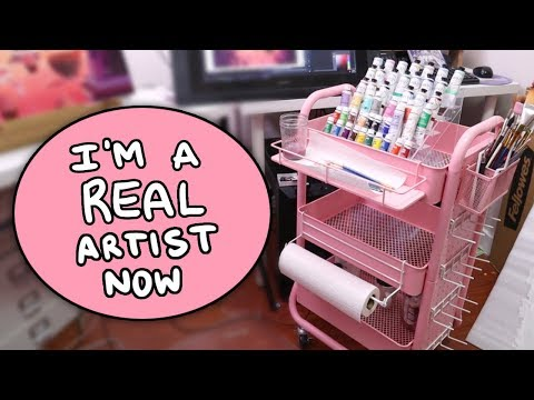 I Bought the Cart Every Artist and Their Dog Owns