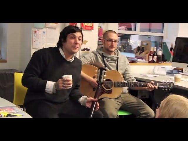 Frank Iero Acoustic Set In The Kerrang Office Youtube