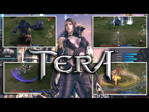 Before you Choose a Class | TERA Online All Classes and Gameplay Preview 2020 (Without Reaper)