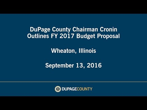DuPage County FY2017 Budget Address