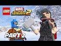 LEGO Marvel Super Heroes 2 Gameplay Walkthrough Part 2 - Thor & Captain America