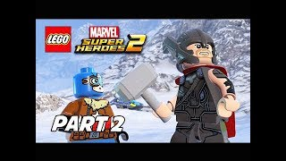 LEGO Marvel Super Heroes 2 Gameplay Walkthrough Part 2 - Thor & Captain America