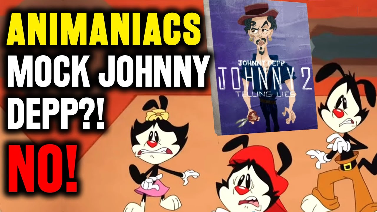Did Animaniacs Mock Johnny Depp for Telling Lies?! - NO! Important Fact Check
