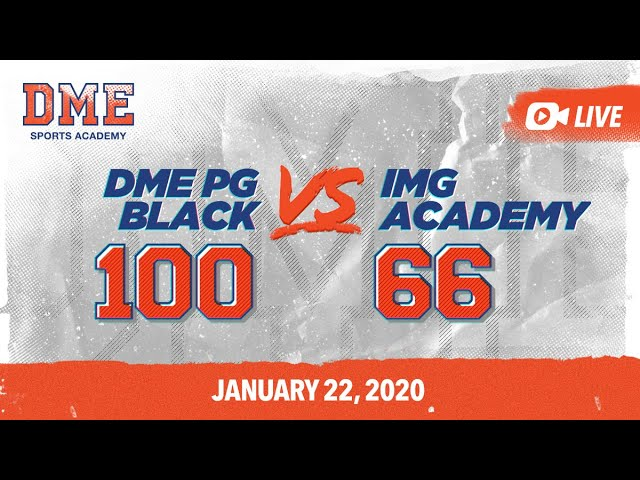 DME PG Black vs IMG