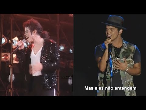 Michael Jackson × Bruno Mars × Talking To The Moon