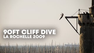 90ft cliff dive! Red Bull Cliff Diving in La Rochelle