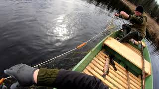 Открытие весеннего сезона Рыбалка сетями Часть 2