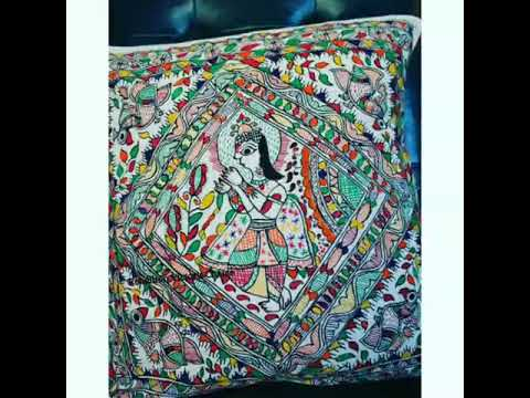 World Famous Madhubani Painting Design by Rebellion Victor's Choice