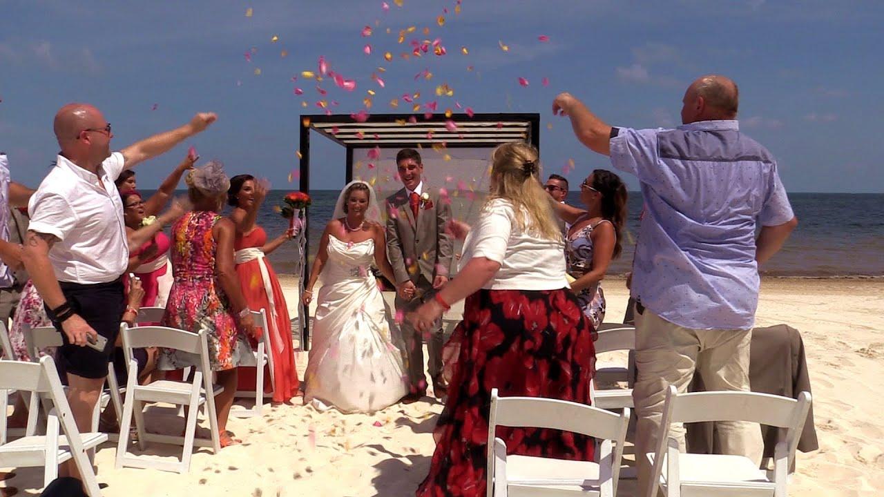 Moon Palace Wedding-Samantha & Nick - YouTube