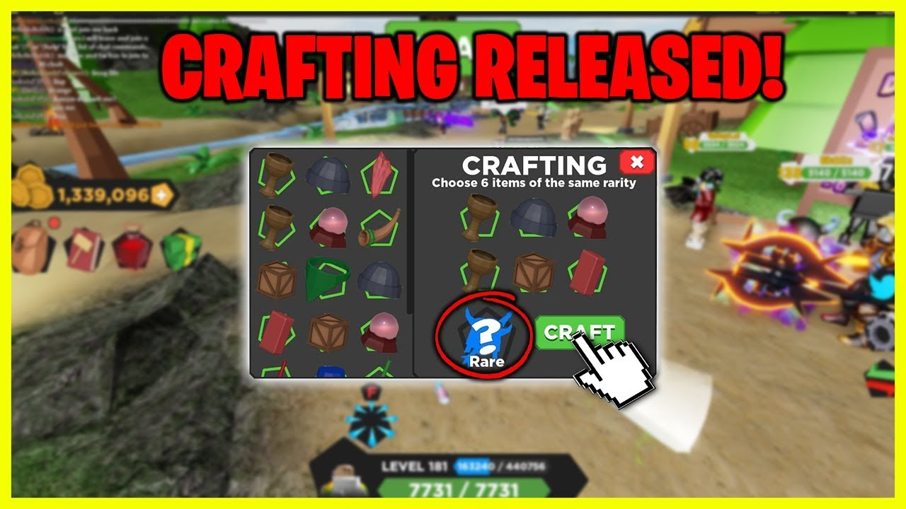 *NEW* TREASURE QUEST UPDATE! CRAFTING RELEASED! NEW DUNGEON! TWITTER CODES!