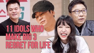 The Reason why Big 3 REGRET rejecting these idols