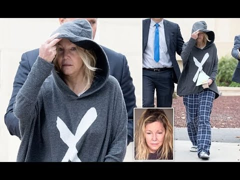 Heather Locklear leaves jail in pajamas and flip-flops after arrest - 247 news
