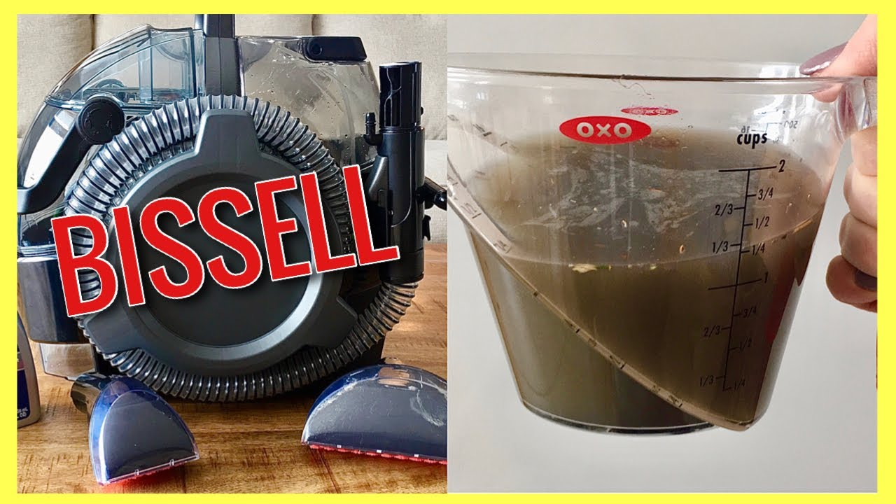 Bissell Spot Clean Pro DEEP CLEAN Carpet, Couches, Cars, Rugs & MORE!!!   Andrea Jean