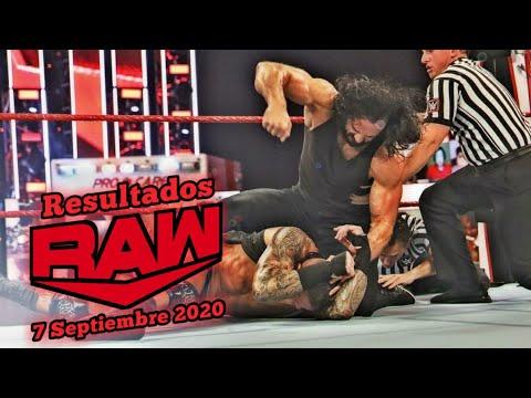 Download 🔴 Monday Night Raw 7 Septiembre 2020 ~ Resultados Explosivos