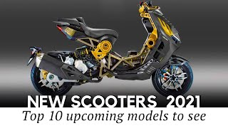 10 Upcoming Scooters Entering International Markets for 2021 MY (Review with Prices)