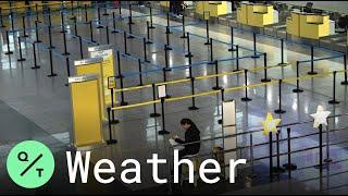 Manila Airport Closed As Typhoon Kammuri Lashes The Philippines