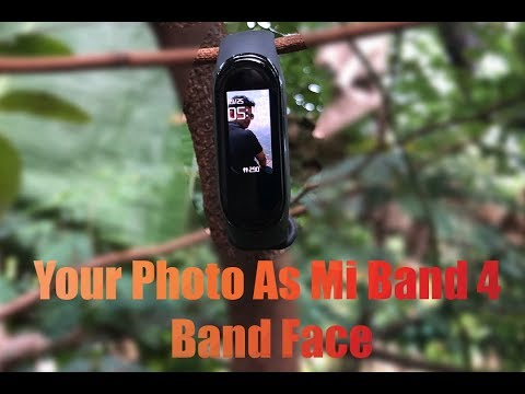 How to make your Photo as Mi Band 4 Watch Face?