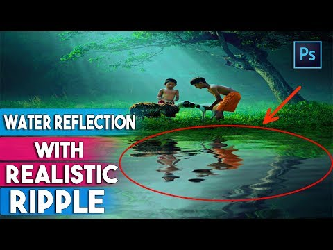 How To Create Water Reflections With Realistic Ripples In Photoshop CC